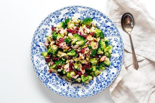 broccoli salad | www.iamafoodblog.com