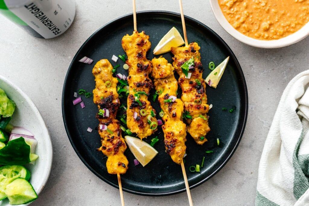 chicken satay | www.iamafoodblog.com