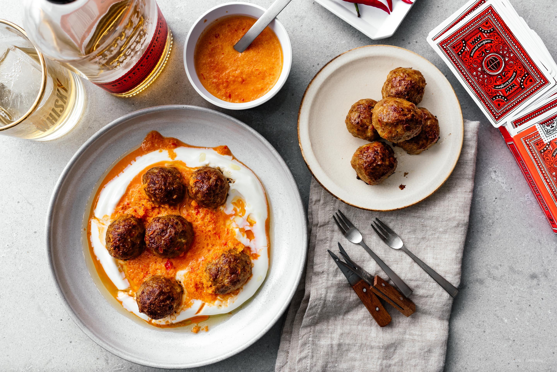 Weeknight Piri Piri Pork Meatballs | www.iamafoodblog.com