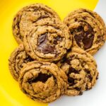 brown butter chocolate chip cookies | www.iamafoodblog.com