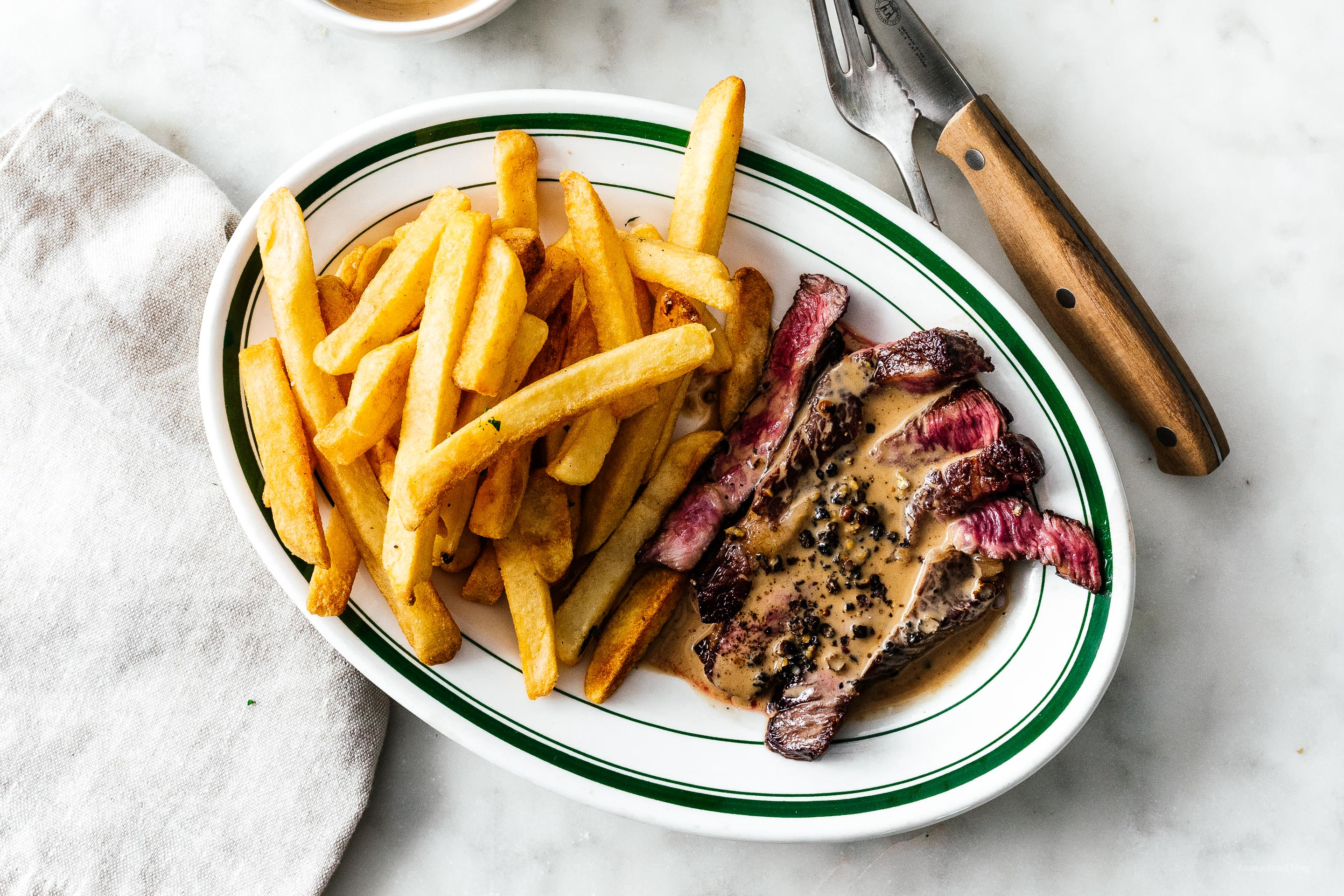 Steak and fries of the week |  www.iamafoodblog.com