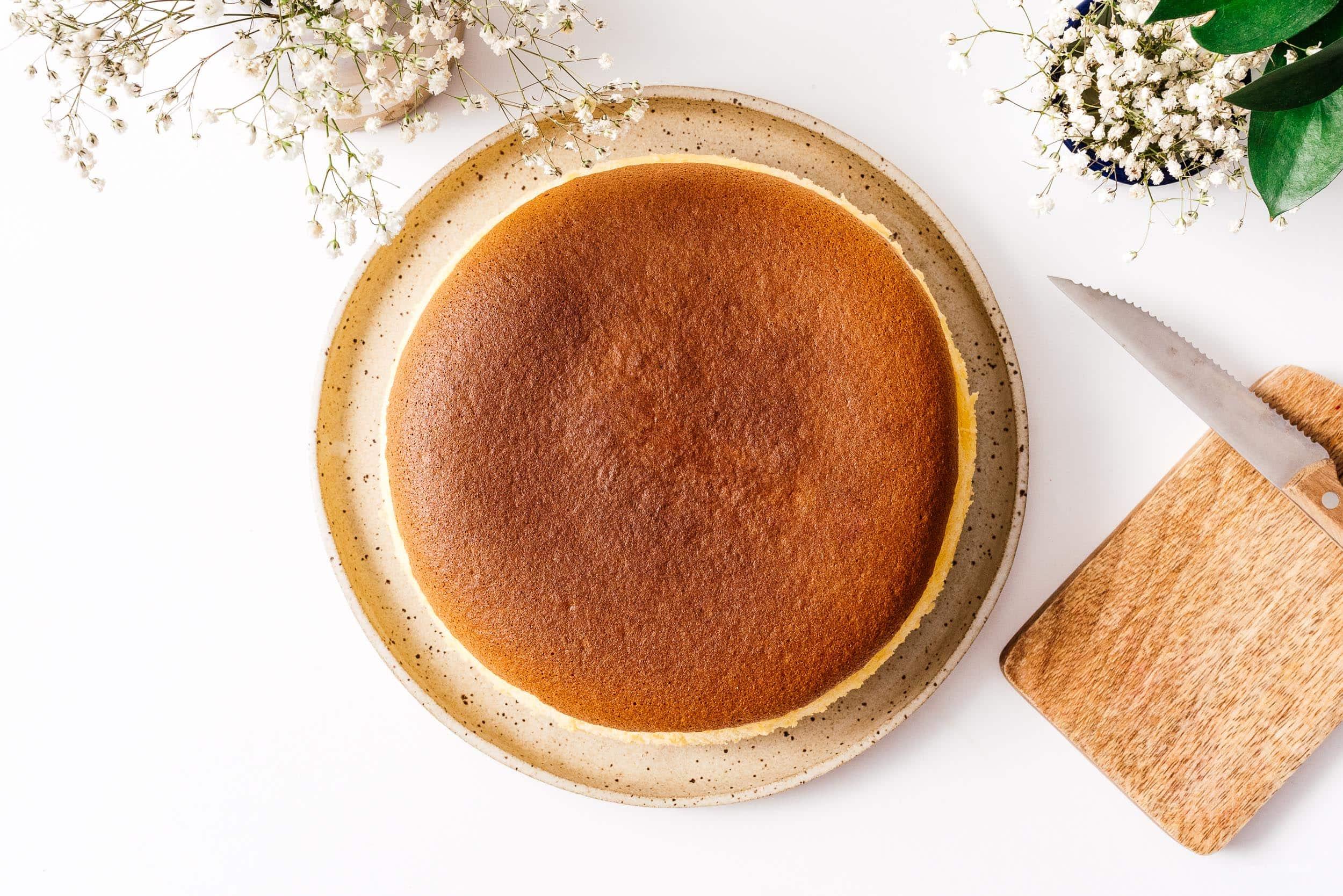 Japanese Cotton Cheesecake | www.iamafoodblog.com