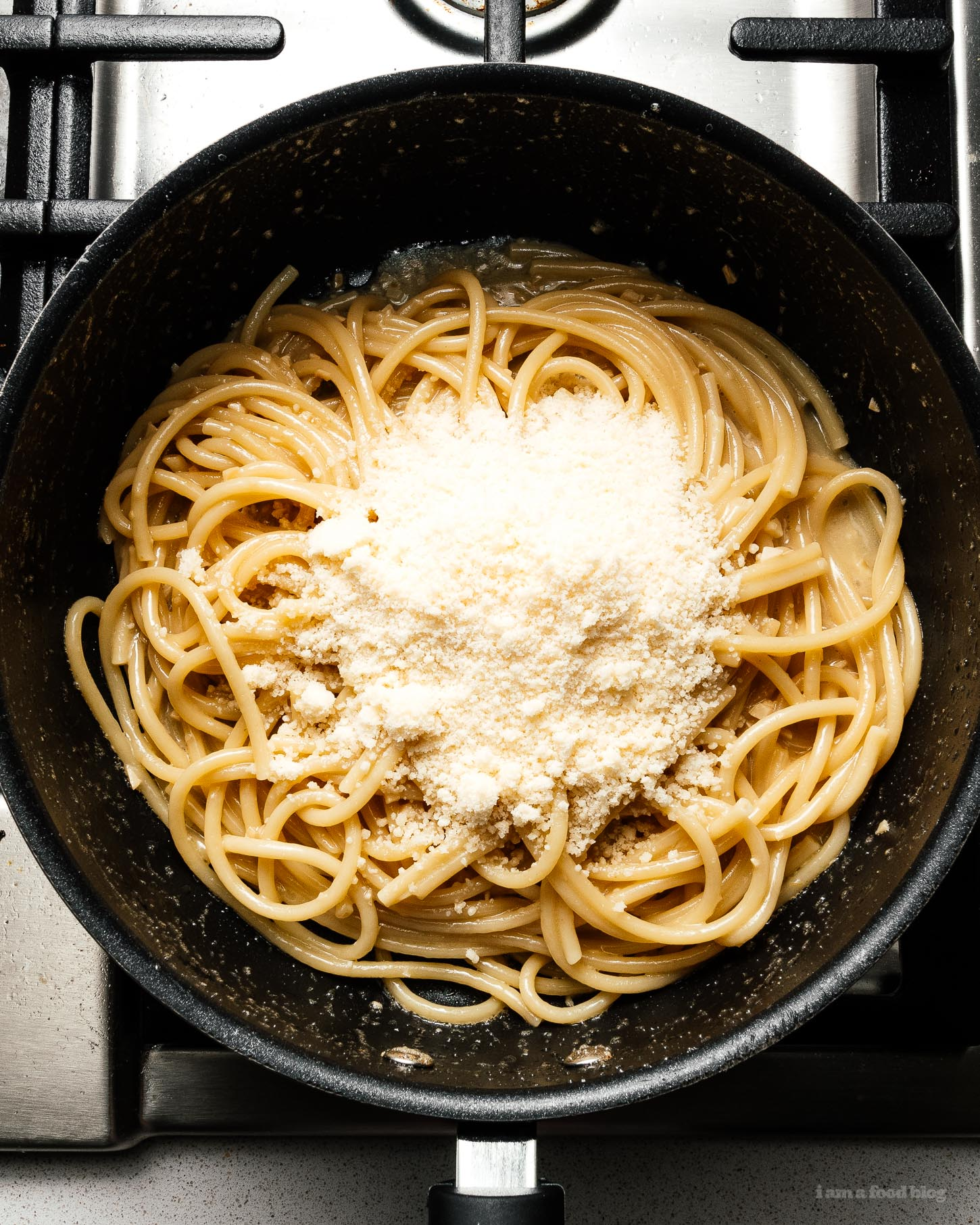 butter noodles with parmesan | www.iamafoodblog.com