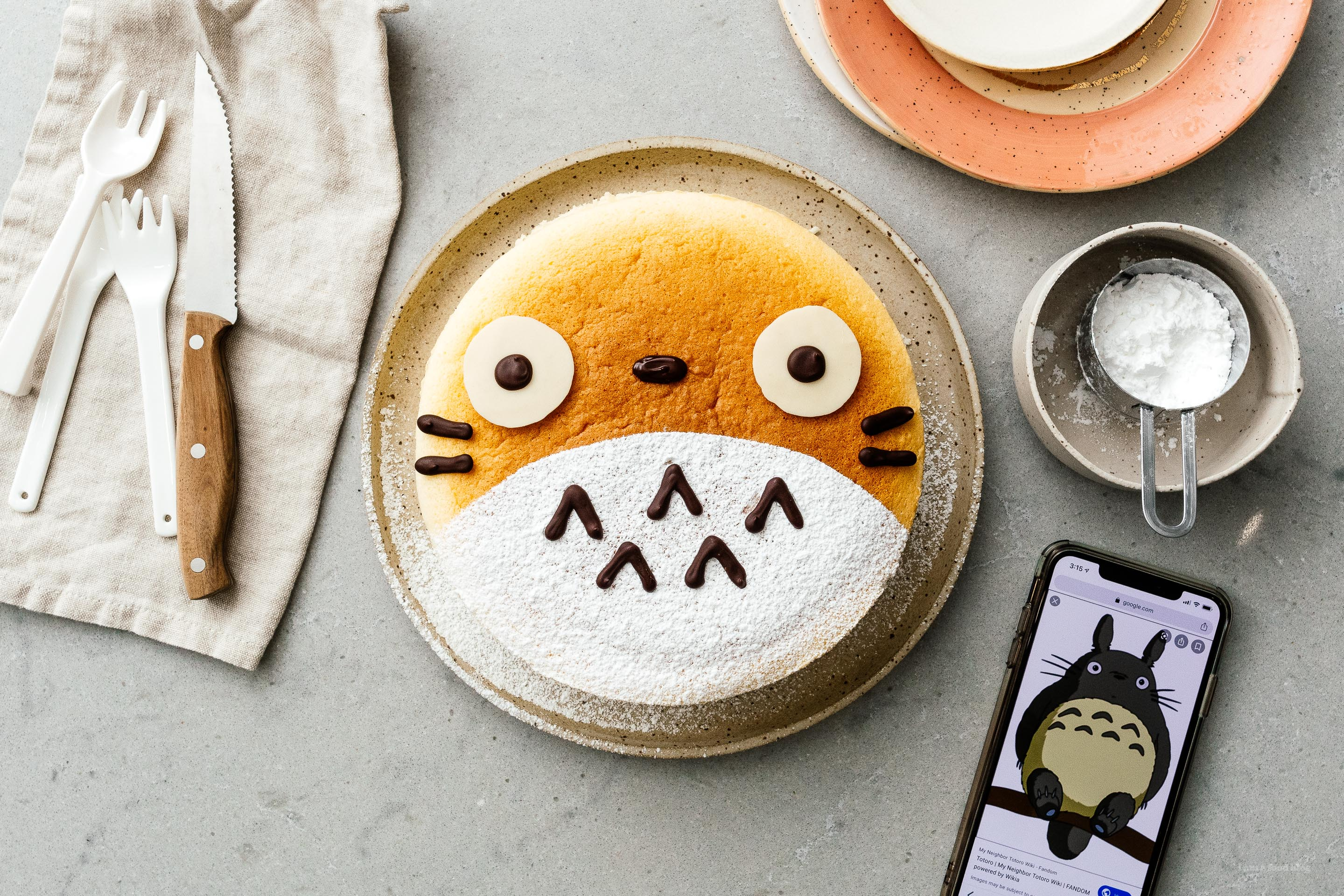 Totoro Cheesecake Recipe Fluffy Japanese Cheesecake I Am A Food Blog