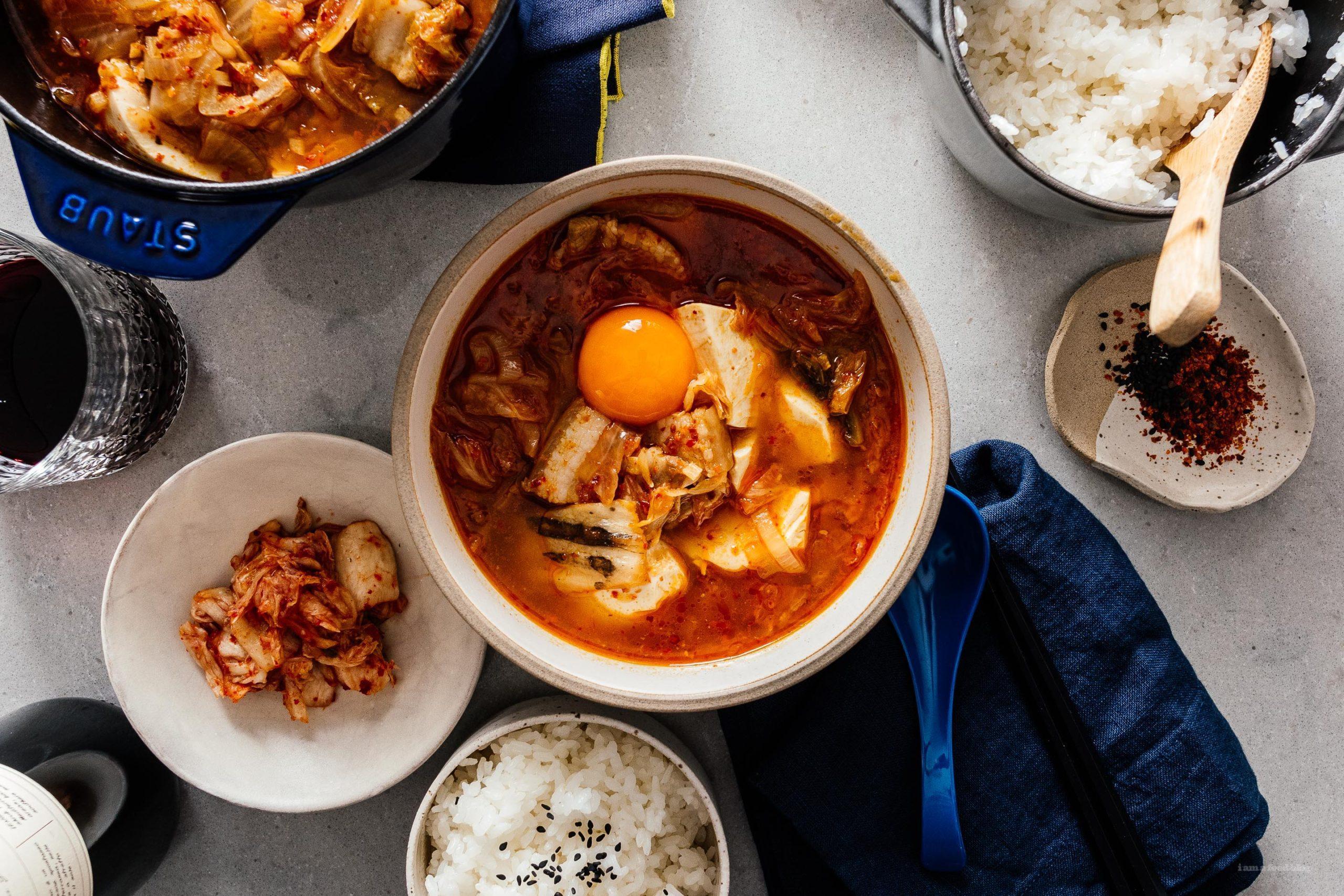 Sundubu Jjigae Kimchi Soft Tofu Stew | www.iamafoodblog.com