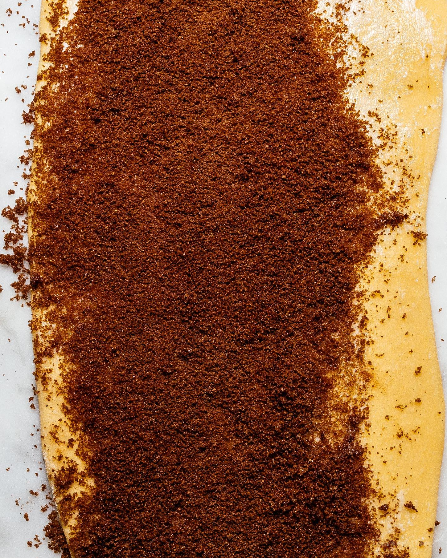 small batch mini sticky bun cinnamon roll monkey bread #smallbatch #recipe #baking #stickybun #morningbun #cinnamonrolls #cinnamonbuns #monkeybread #cinnamon