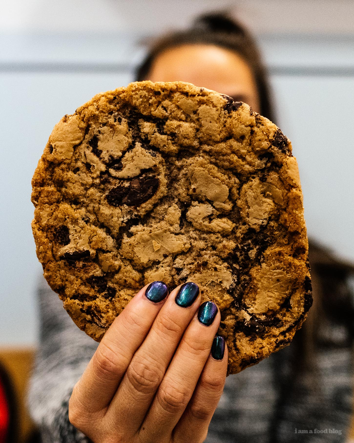 Jacques Torres's famous Chocolate Chip Cookie | www.iamafoodblog.com
