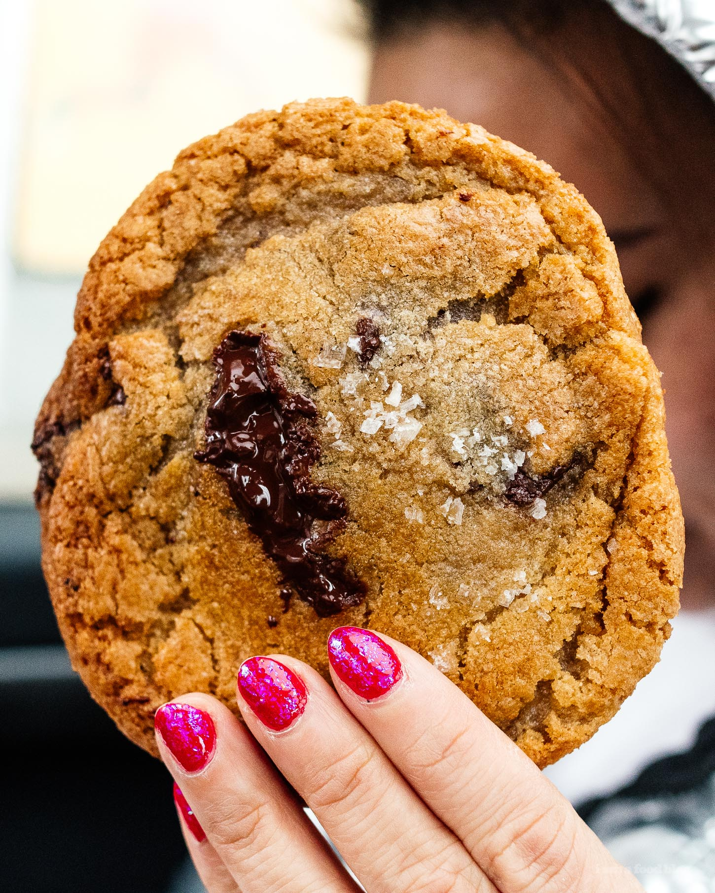 Slab's famous Chocolate Chip Cookie | www.iamafoodblog.com
