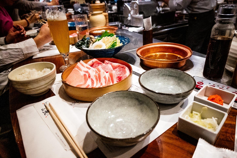 Yamawarau Omotesando - Modern Affordable Shabu Shabu in Tokyo | www.iamafoodblog.com