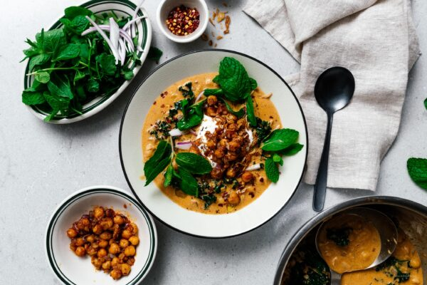 Coconut Curry Chickpea Stew | www.iamafoodblog.com