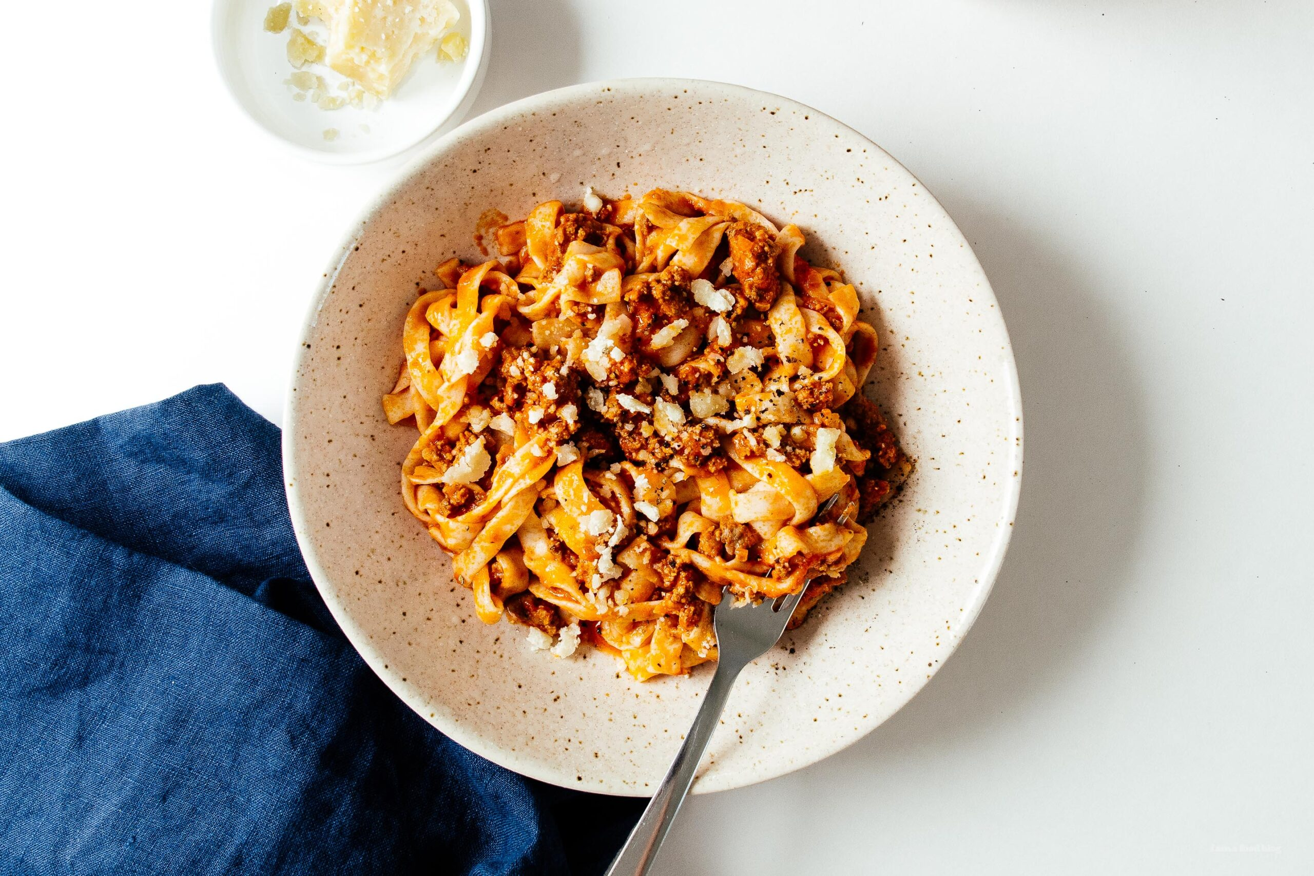 Low Carb Bolognese with Shirataki Noodles |  www.iamafoodblog.com