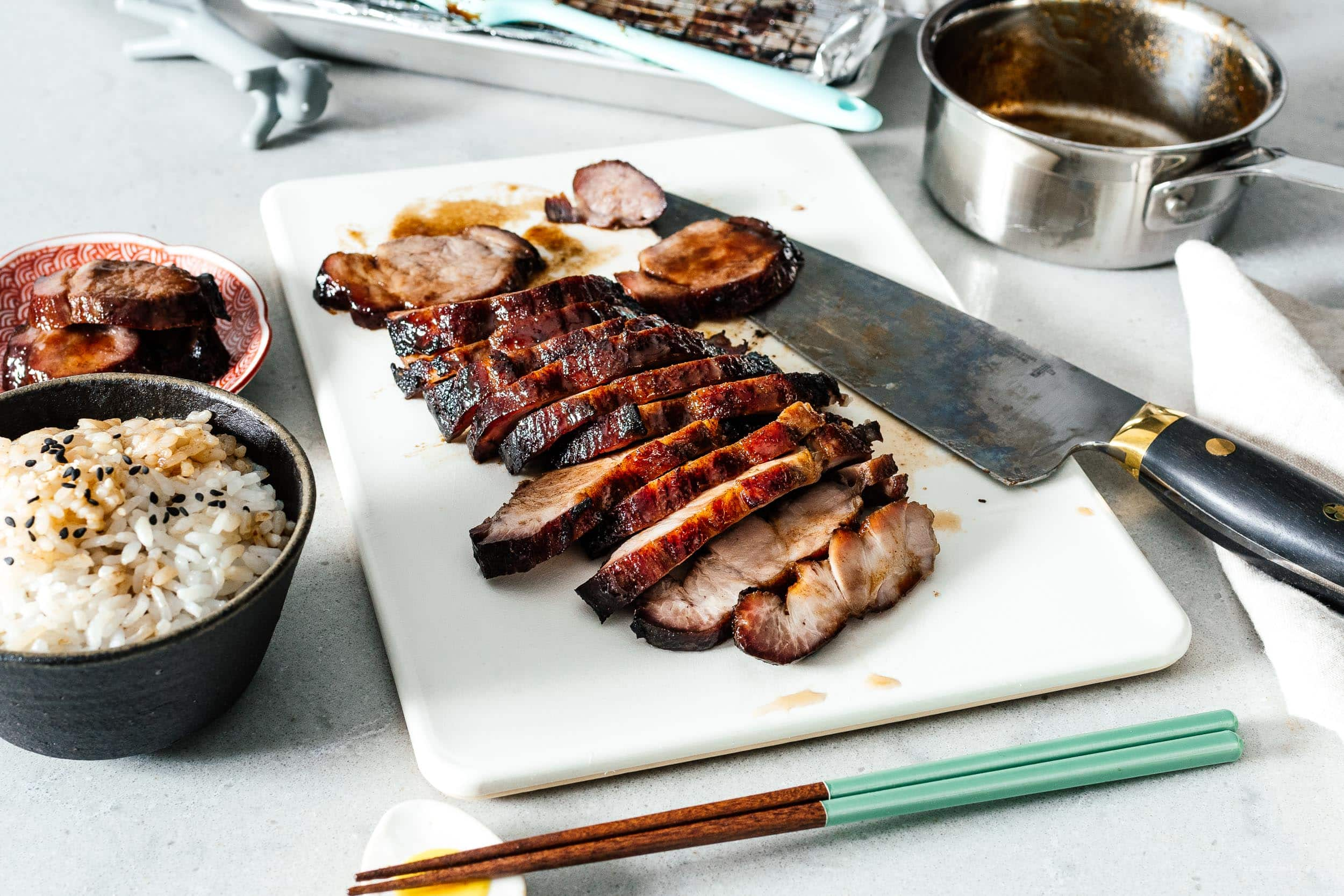 Char Siu really easy (Chinese barbecue pork) |  www.iamafoodblog.com