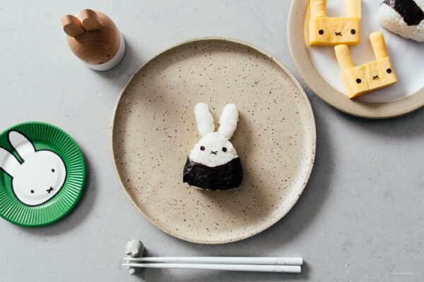How to Make Tuna Onigiri: Miffy Tuna Onigiri | www.iamafoodblog.com