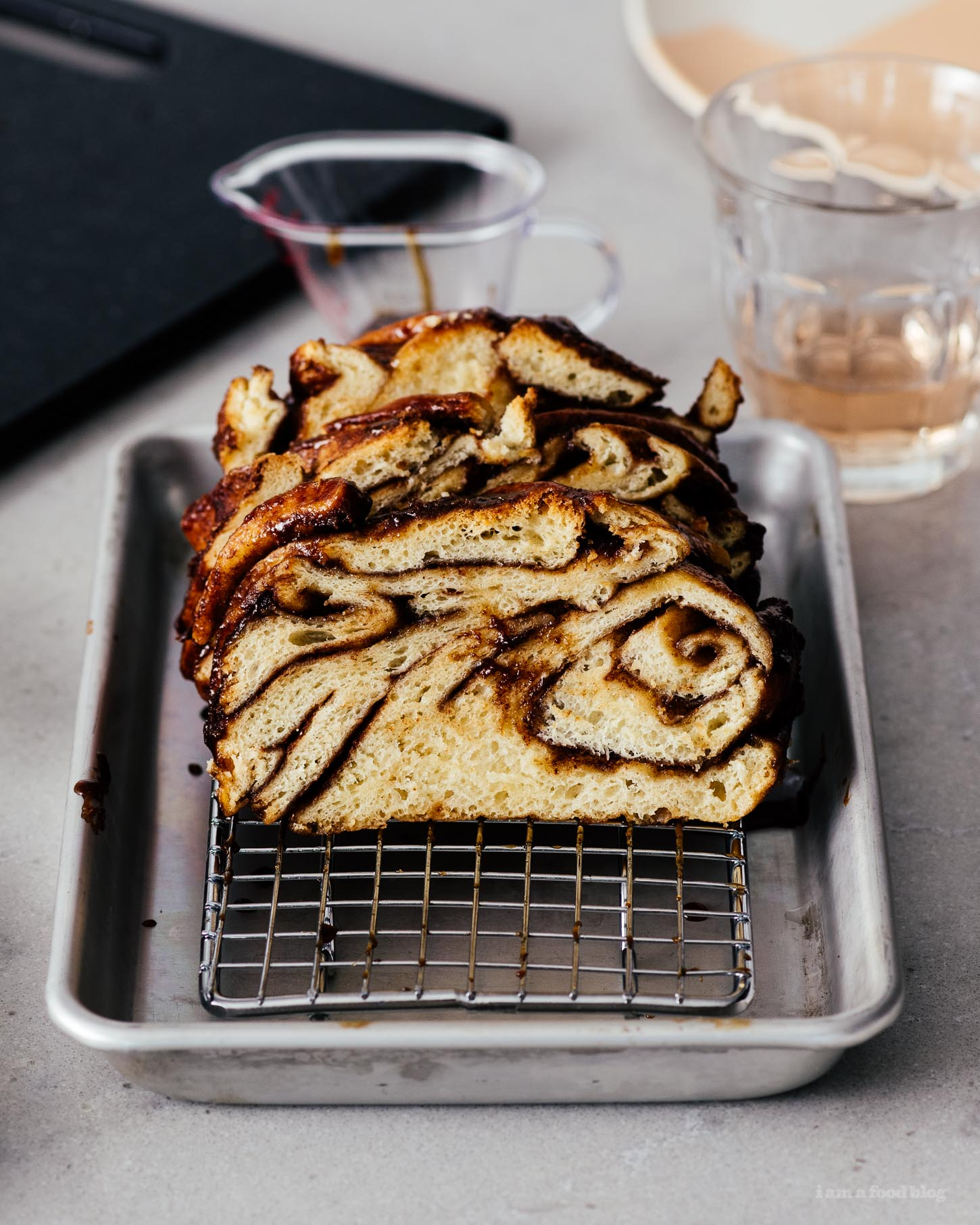 Small Batch Mini Sourdough Babka Recipe | www.iamafoodblog.com