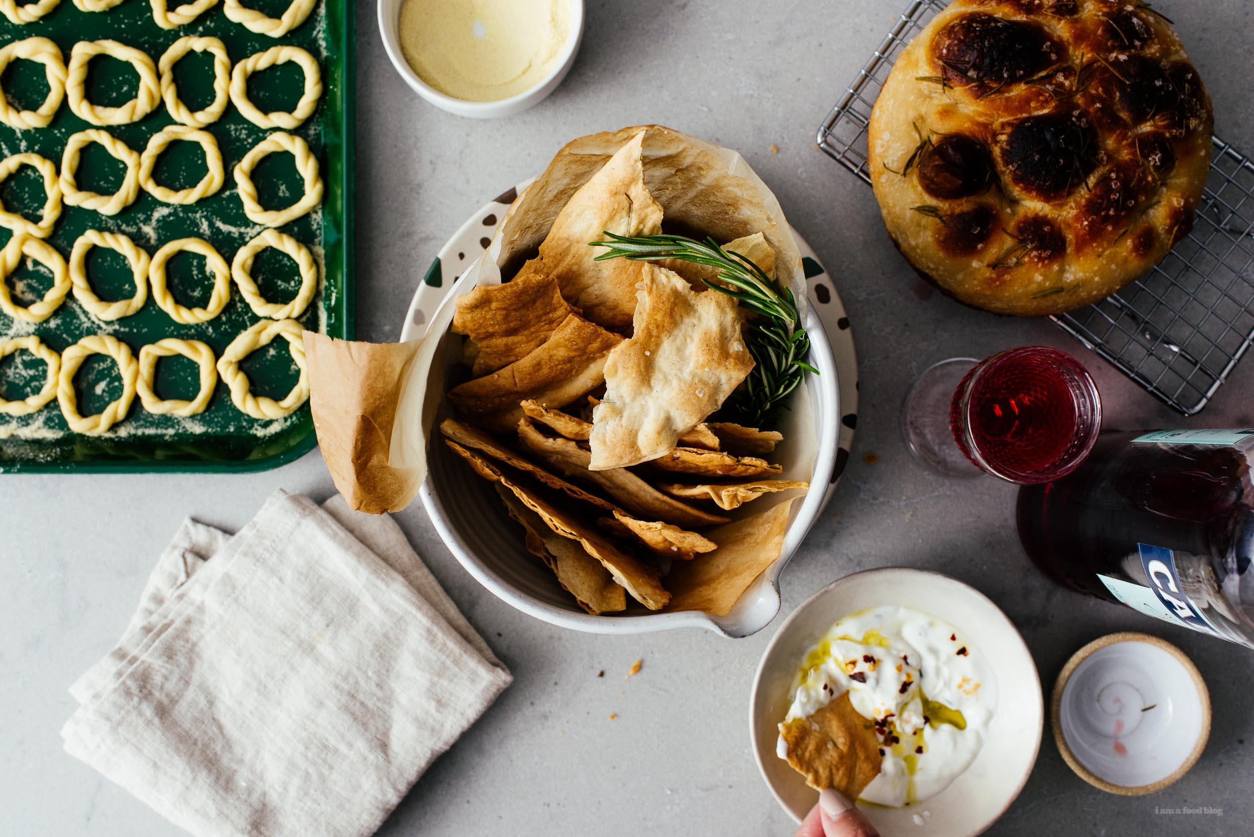 Sourdough Crackers | www.iamafoodblog.com