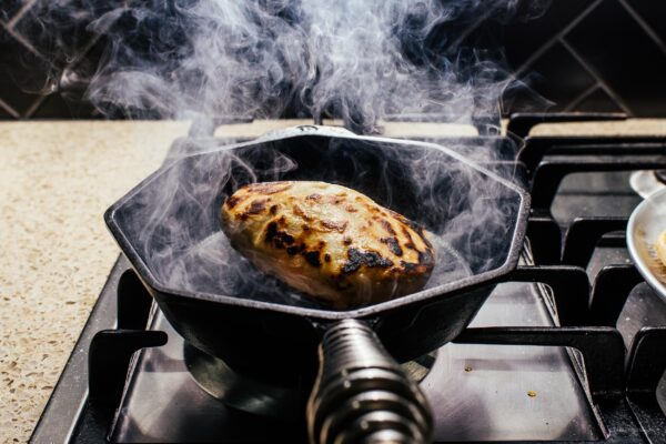 No Yeast Cheesy Naan Bread | www.iamafoodblog.com
