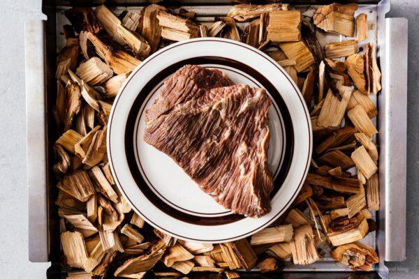 smoking pastrami | www.iamafoodblog.com