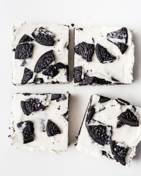Small Batch No Bake Oreo Cheesecake Recipe | www.iamafoodblog.com