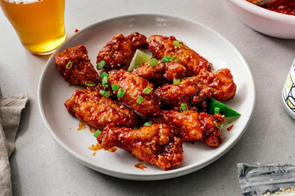 korean fried chicken recipe | www.iamafoodblog.com