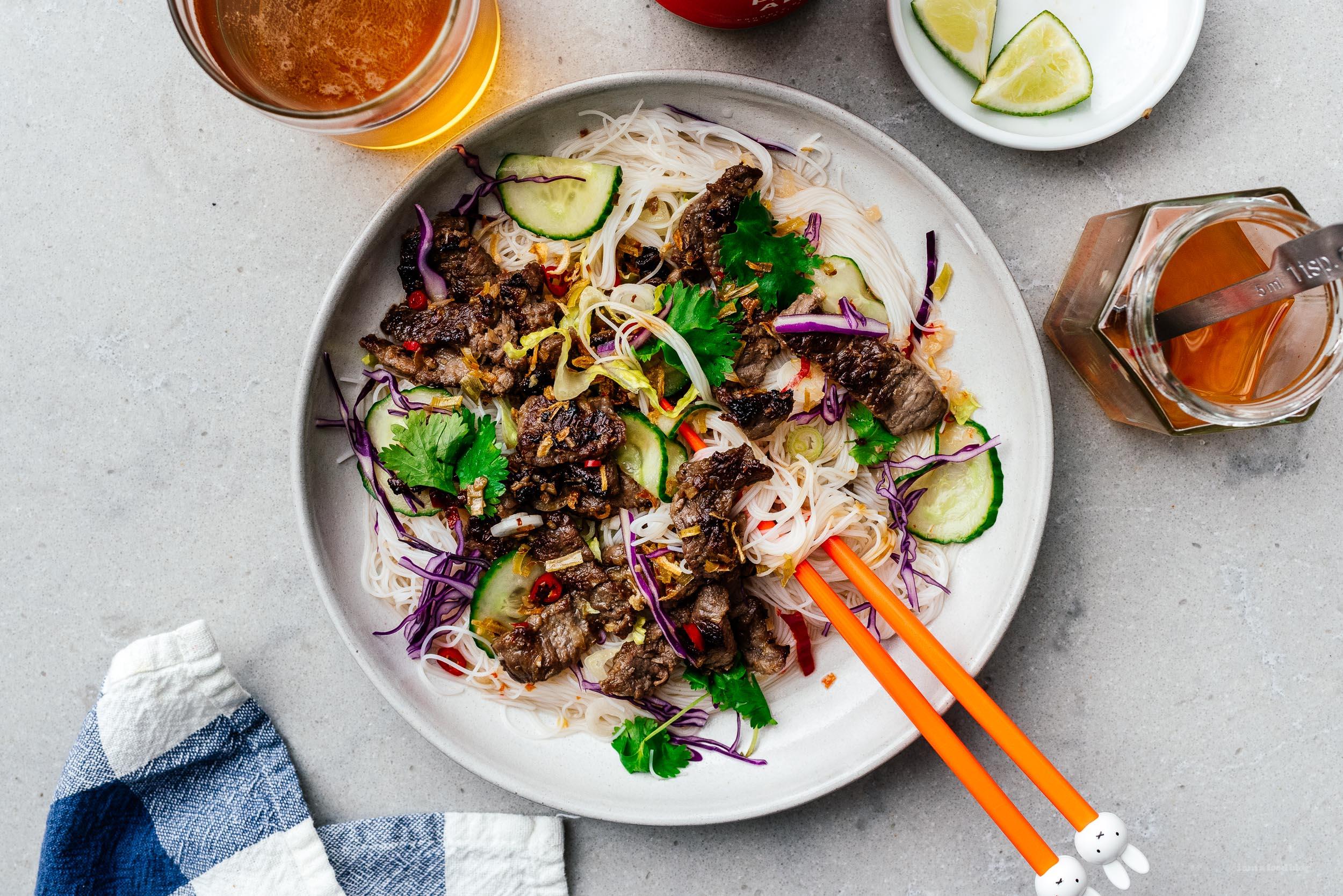 Vietnamese Lemongrass Beef | www.iamafoodblog.com