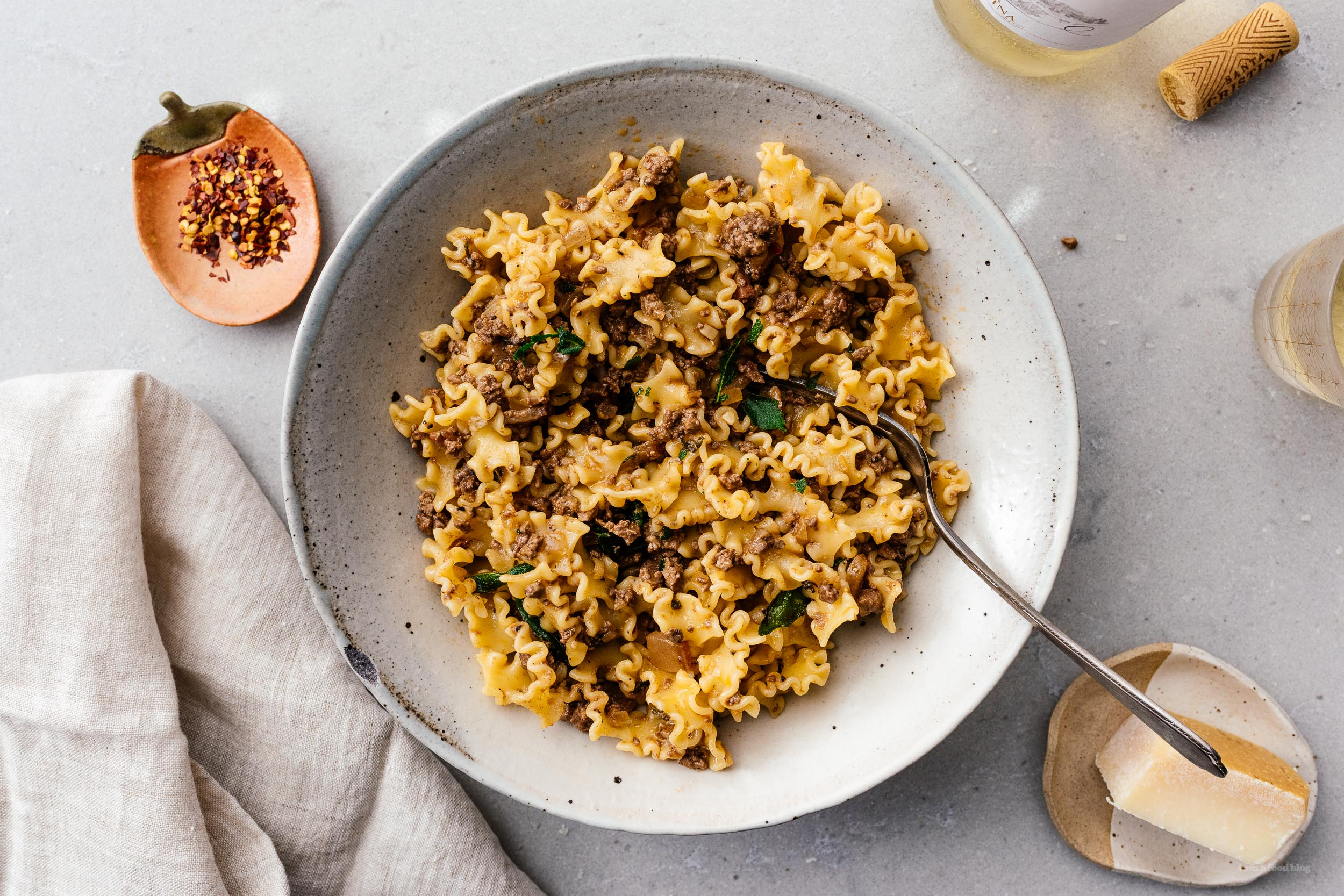 Ragù with sage and chicken liver |  www.iamafoodblog.com