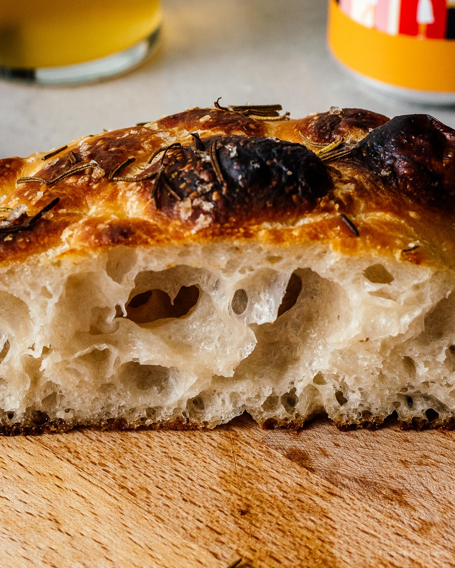Small Batch Sourdough Focaccia | www.iamafoodblog.com