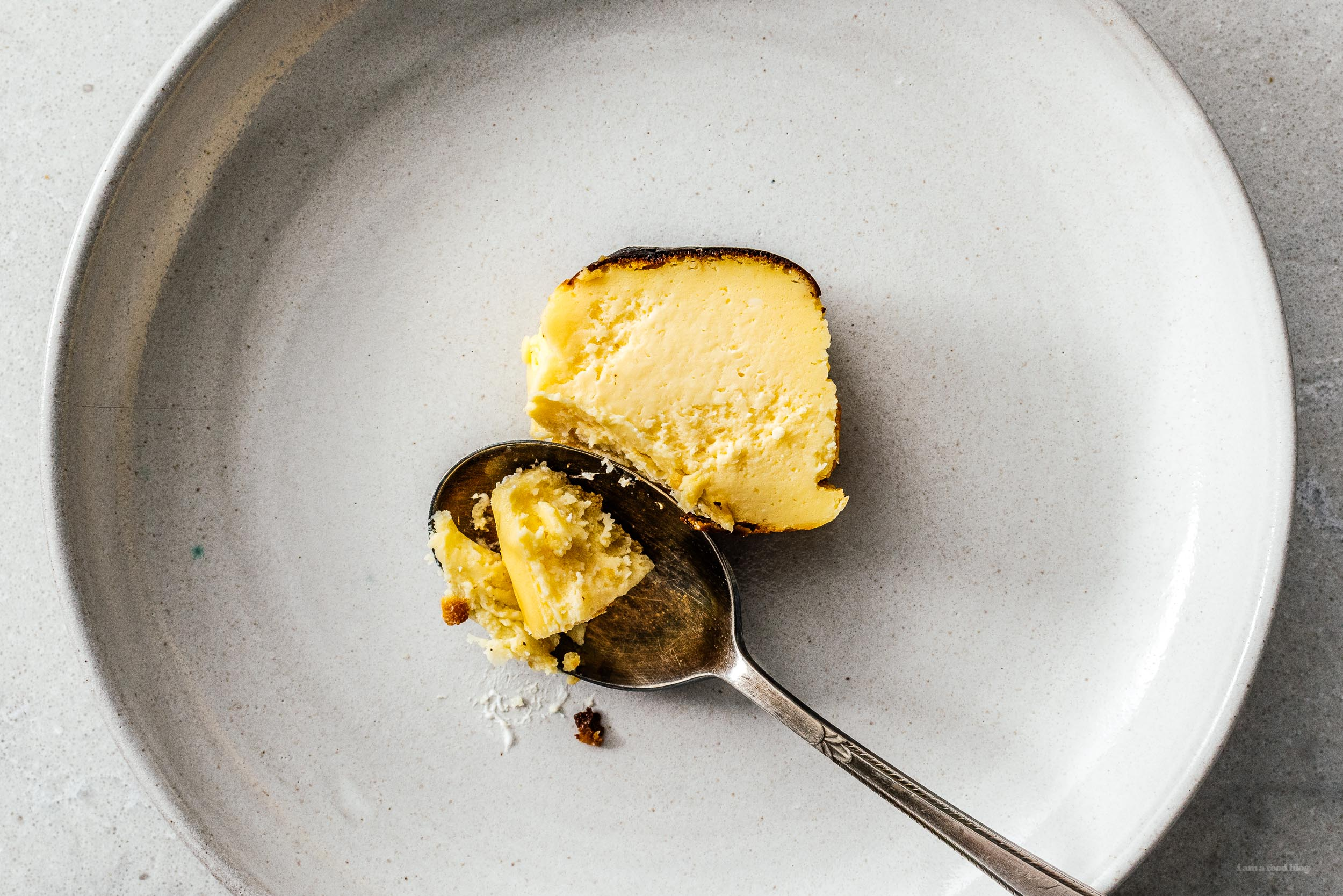 Basque Burnt Cheesecake | www.iamafoodblog.com