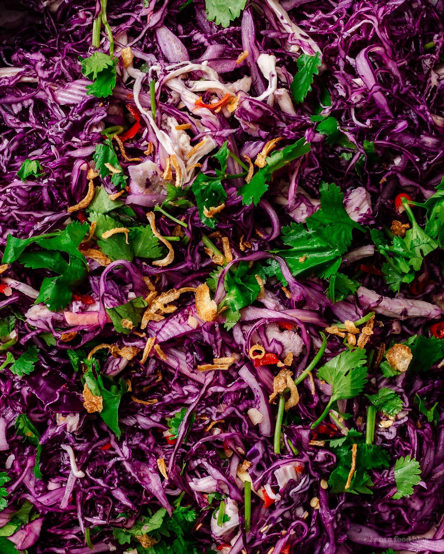 Vietnamese Chicken Salad Recipe | www.iamafoodblog.com