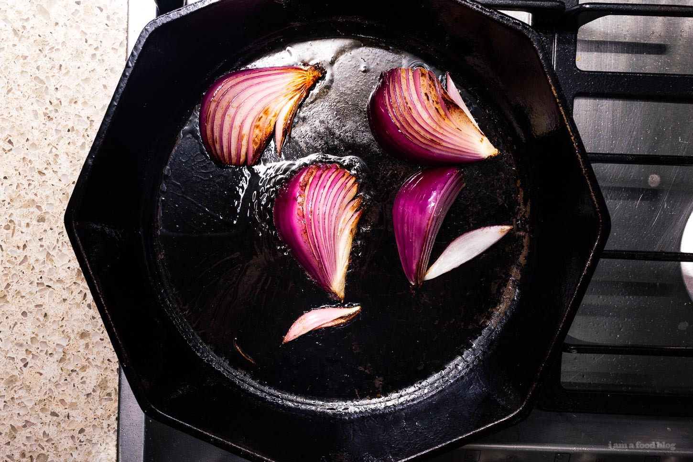 Sear the onions | www.iamafoodblog.com