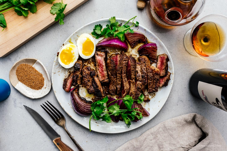 The Best Cajun Butter Steak Recipe | www.iamafoodblog.com