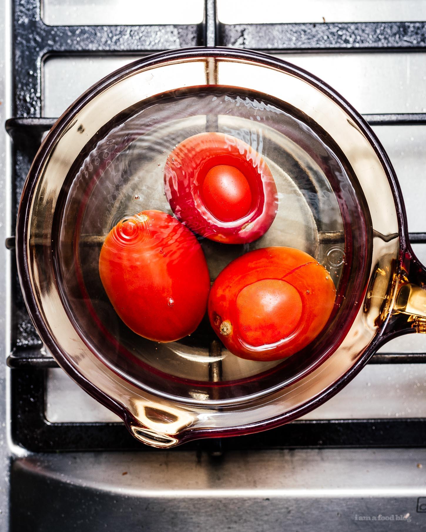 Chinese Tomato Egg Stir Fry | www.iamafoodblog.com