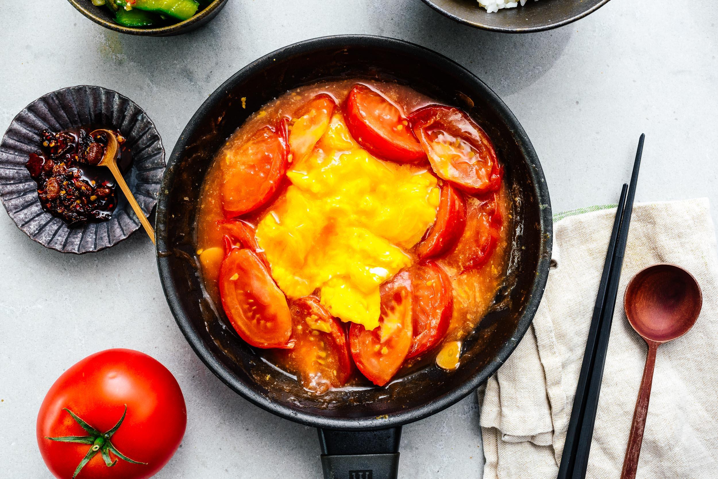 Classic Chinese Tomato Egg Stir Fry I Am A Food Blog
