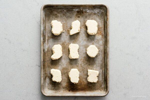 Tofu fried tofu nuggets recipe | www.iamafoodblog.com