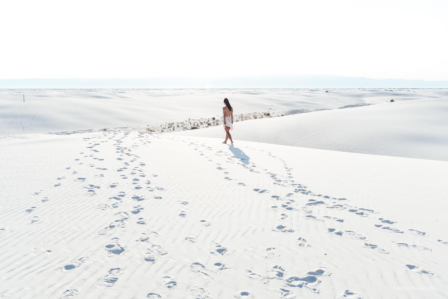 white sands new mexico | www.iamafoodblog.com