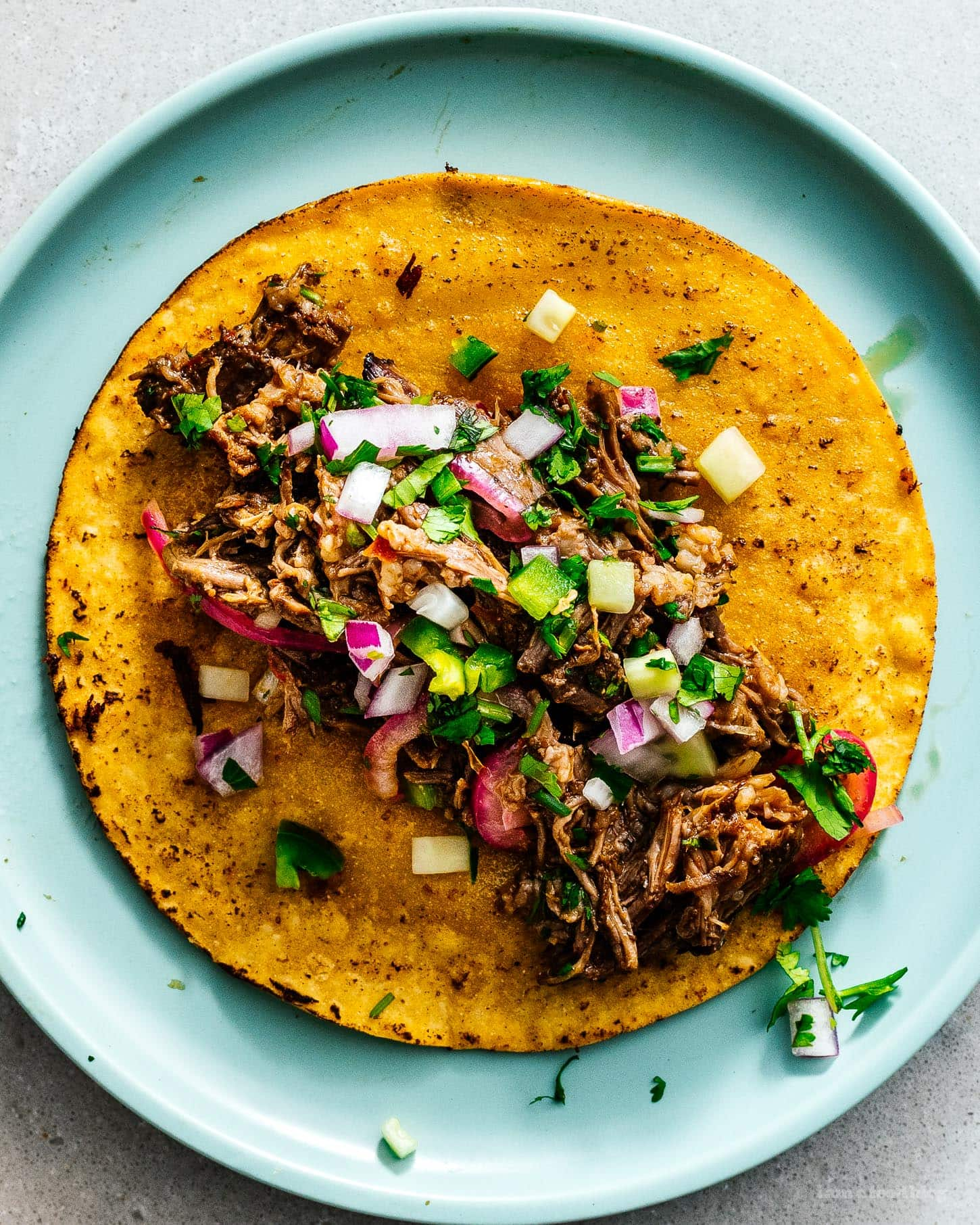 barbacoa tacos | www.iamafoodblog.com
