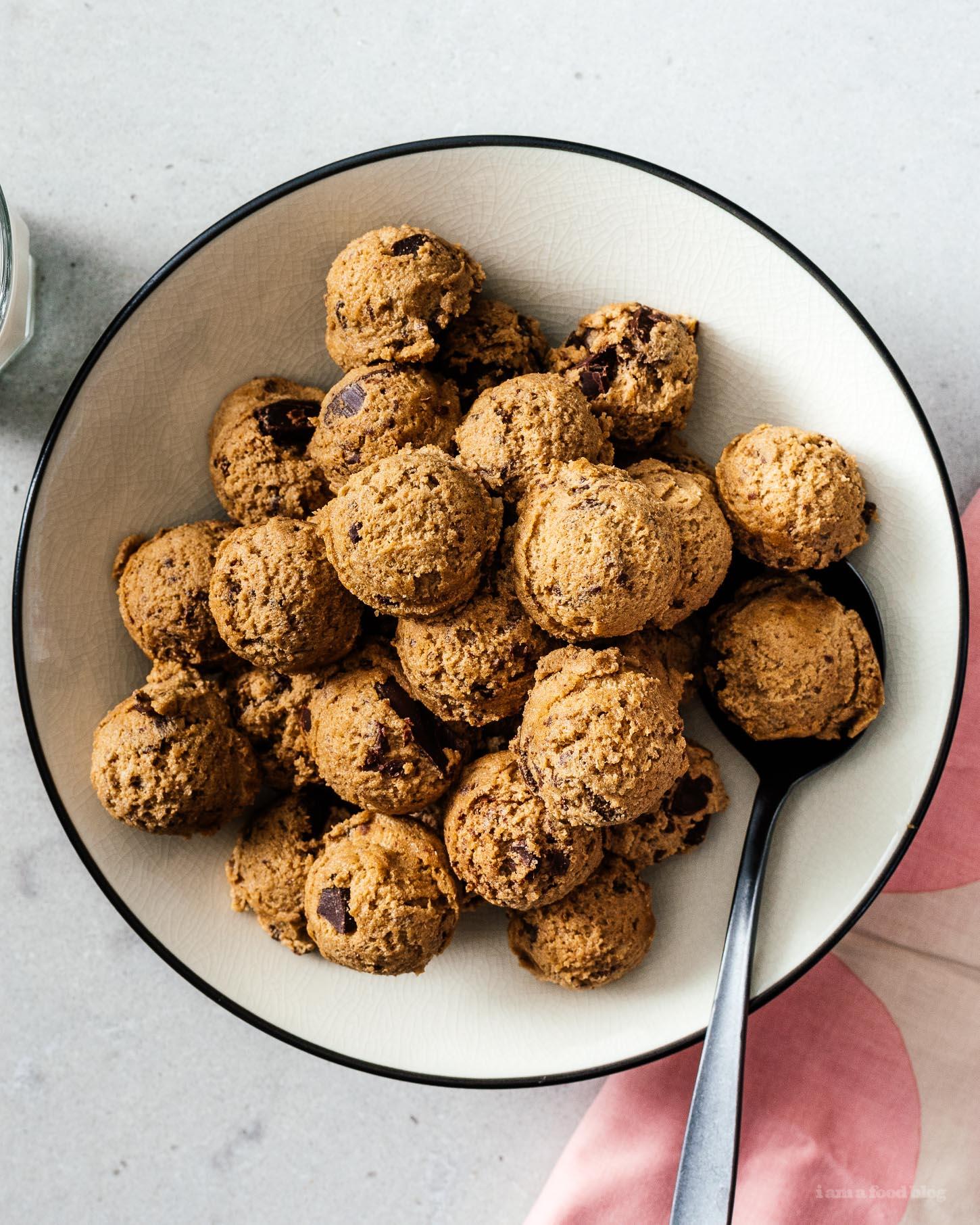 edible cookie dough recipe | www.iamafoodblog.com