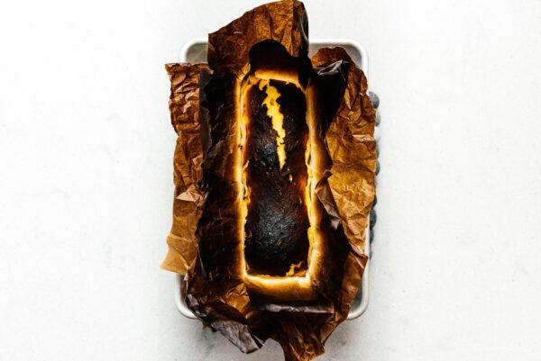 keto basque cheesecake | www.iamafoodblog.com