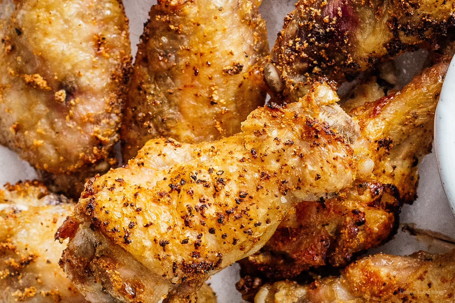 chicken wings in air fryer | www.iamafoodblog.com