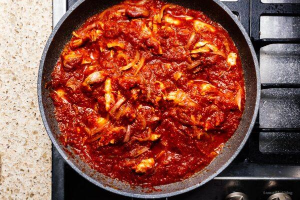 tinga de pollo | www.iamafoodblog.com