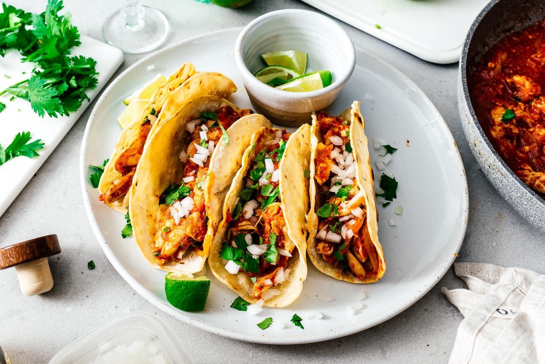 tinga tacos | www.iamafoodblog.com