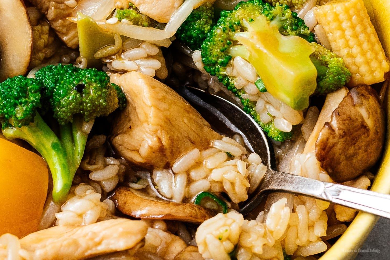chop suey over rice | www.iamafoodblog.com