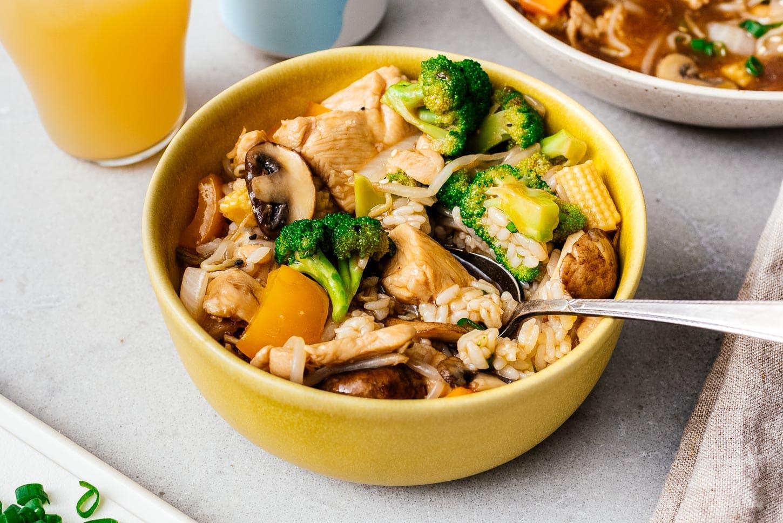 chicken chop suey | www.iamafoodblog.com