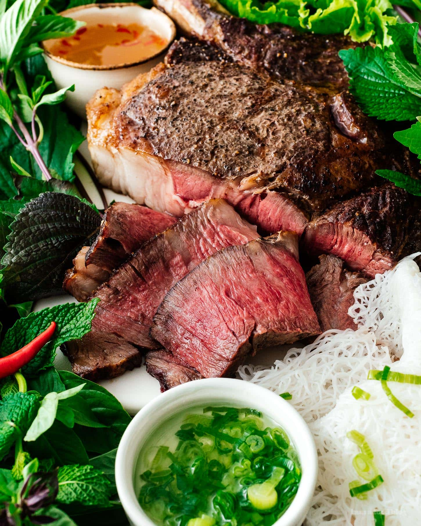 tomahawk steak | www.iamafoodblog.com