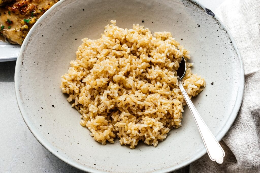 Instant Pot Brown Rice | www.iamafoodblog.com