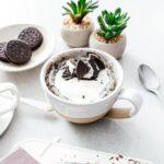 Oreo mug cake | www.iamafoodblog.com
