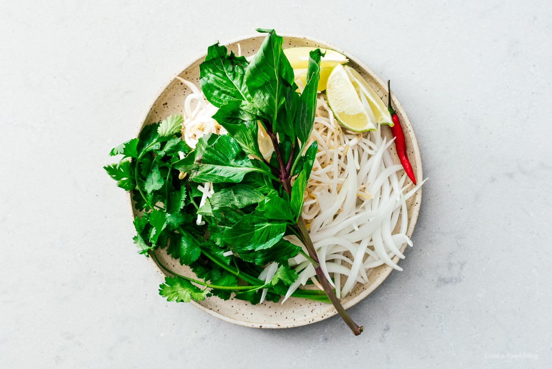 pho toppings | www.iamafoodblog.com