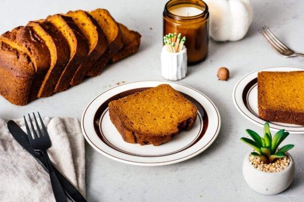 pumpkin bread recipe | www.iamafoodblog.com