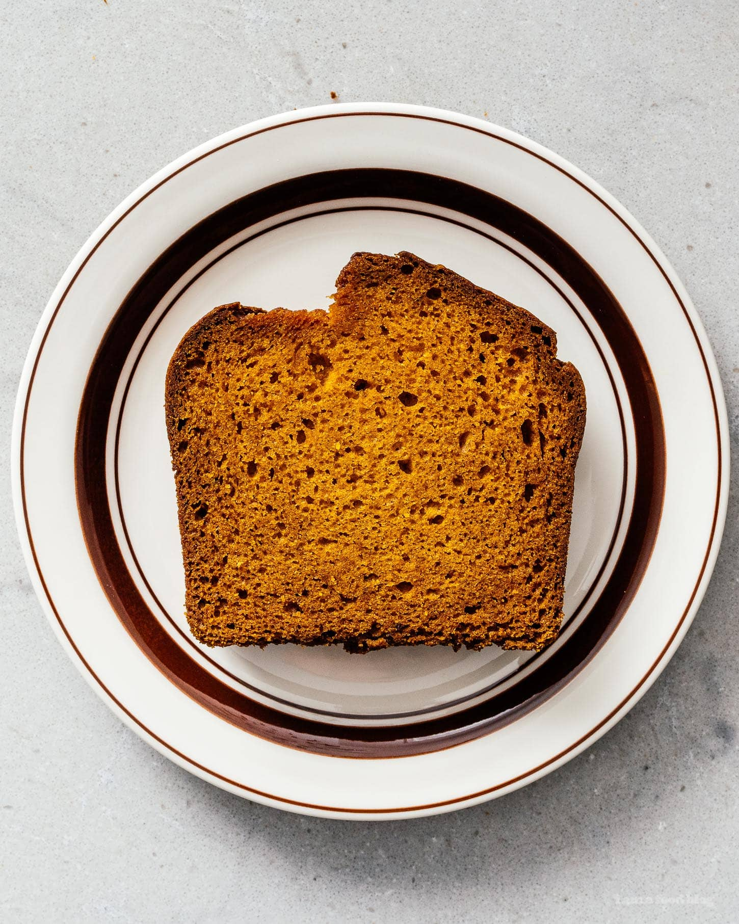 pumpkin bread slice | www.iamafoodblog.com