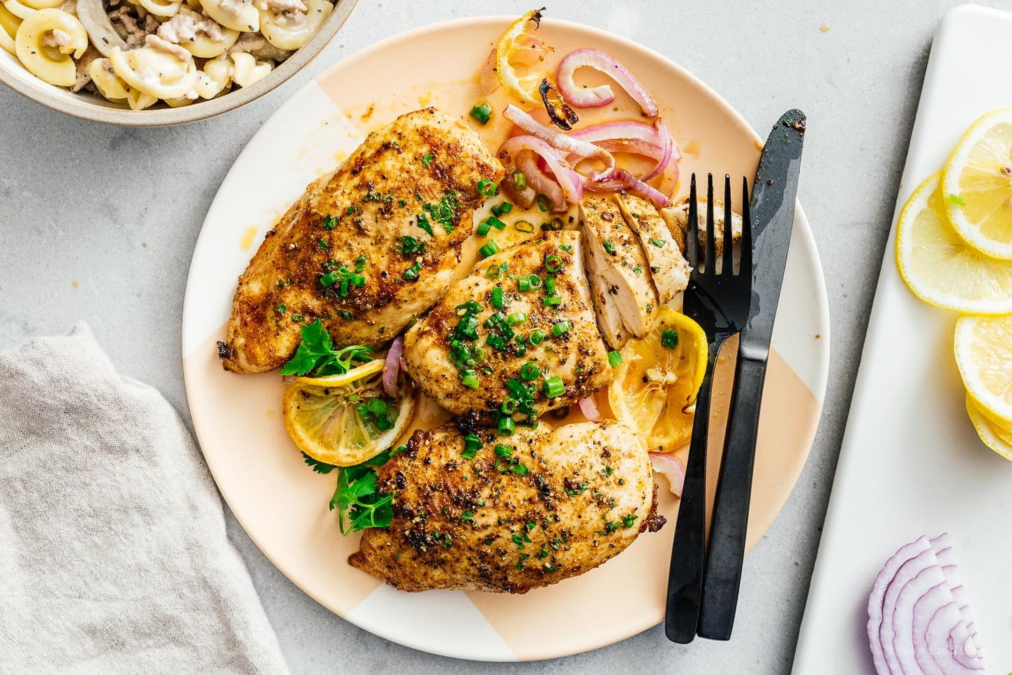 air fryer chicken breast | www.iamafoodblog.com