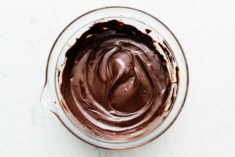 melted chocolate | www.iamafoodblog.com